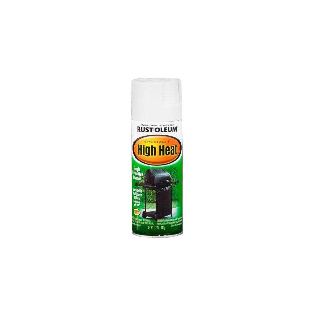 Rust-oleum high heat spray paint white 77518-Exeter Paint Stores