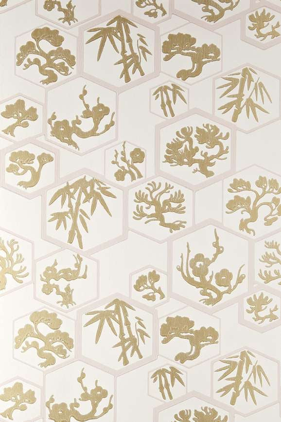 Farrow & Ball Wallpaper Shouchikubai-Exeter Paint Stores