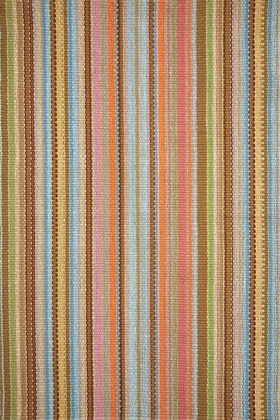 DASH & ALBERT ZANZIBAR TICKING INDOOR/OUTDOOR RUG-Exeter Paint Stores