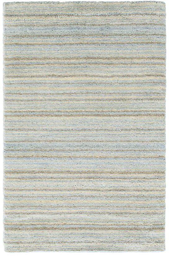 DASH & ALBERT BRINDLE STRIPE KNOTTED WOOL RUG-Exeter Paint Stores