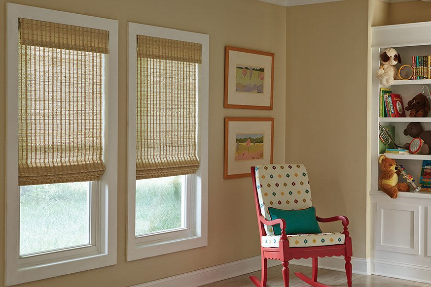 Manh Truc Woven Wood Shades-Exeter Paint Stores