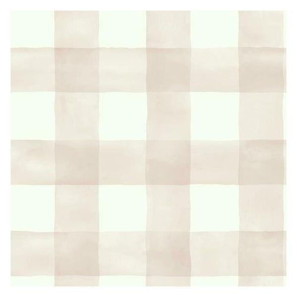 Watercolor Check Sure Strip Wallpaper MH1517-Exeter Paint Stores