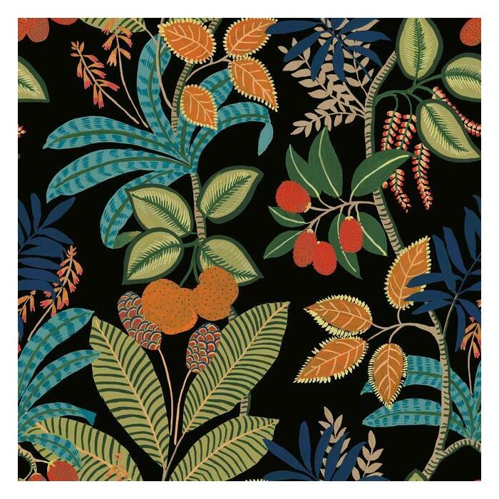 Funky Jungle Peel and Stick Wallpaper RMK11576RL-Exeter Paint Stores