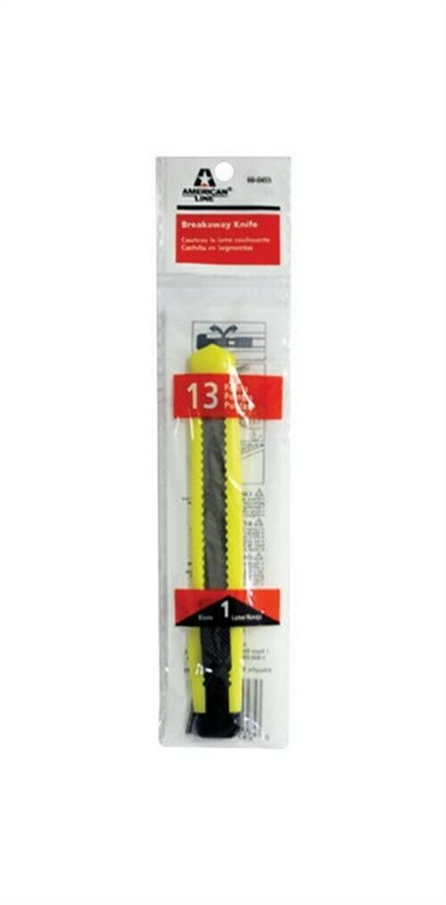 American Line 9mm 13Pt Neon Snap Off Knife 66455-Exeter Paint Stores