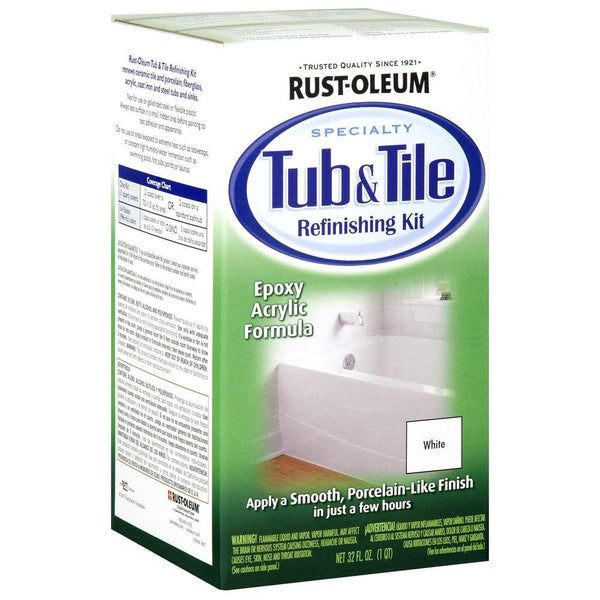Rust-oleum tub and tile kit white 78609-Exeter Paint Stores