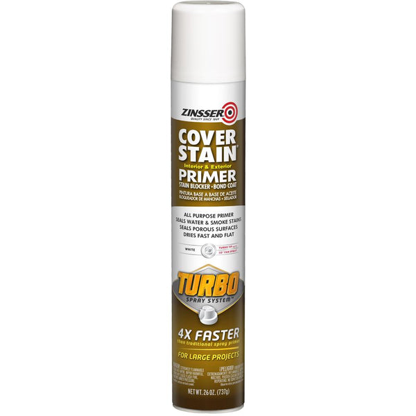 Zinsser® Cover Stain® with Turbo Spray System™-Exeter Paint Stores