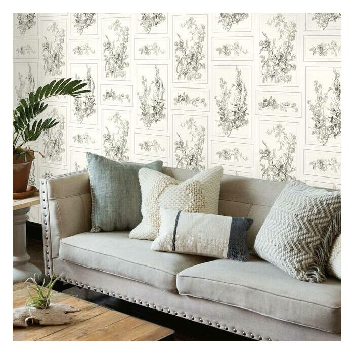 The Magnolia Sure Strip Wallpaper MH1543-Exeter Paint Stores