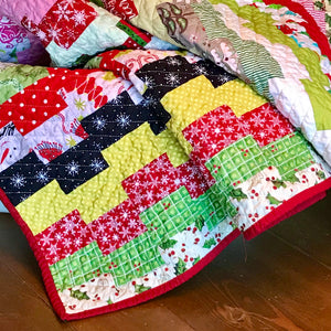 Christmas Ladders Quilt Pattern