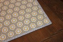 Load image into Gallery viewer, Modern Patchwork Baby Quilt || Gray and Yellow