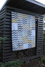 Load image into Gallery viewer, Modern Ladders Quilt || Neutral Colors || Lap Quilt