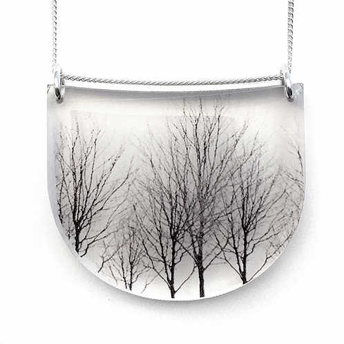 Collier Drop Arbre | Black drop