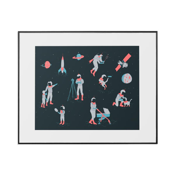 "Affiche astronaute | 8"" x 10"" 