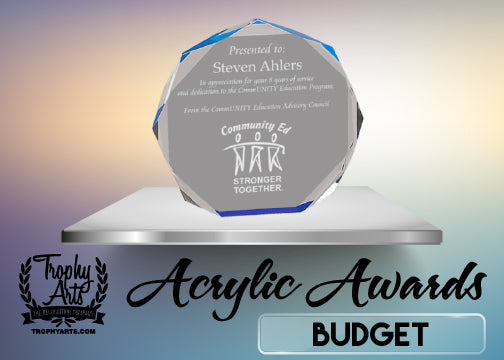 Budget Acrylic Awards