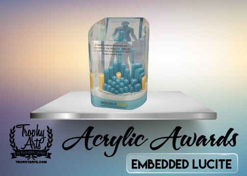 Lucite Acrylics With Embedments
