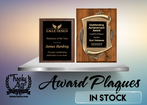 All In Stock Plaques