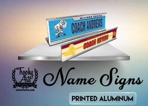 Printed Aluminum Name Signs