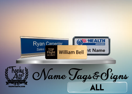 Name Tags & Name Signs