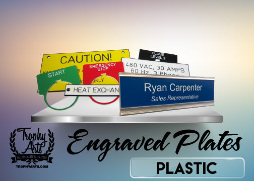 Plastic Signs & Plates