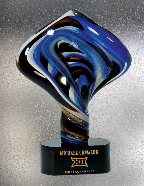 Stormy Night Art Glass Award