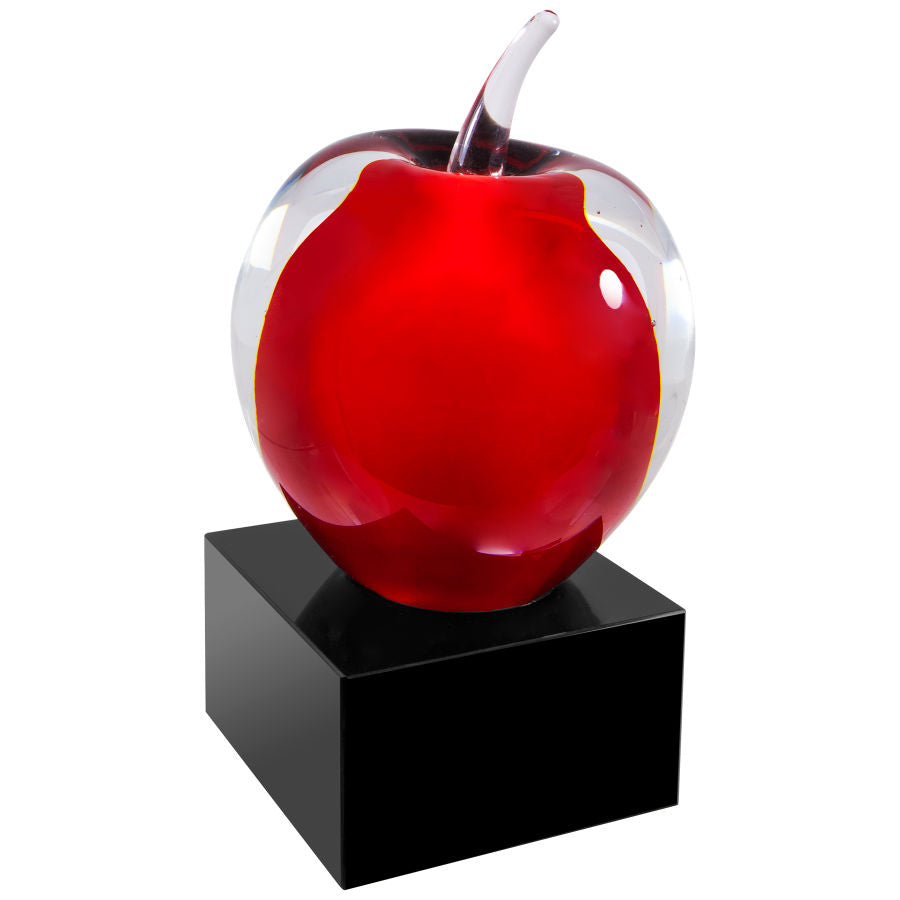 Red Apple Art Glass Award
