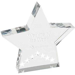 Star Performance Acrylic Award
