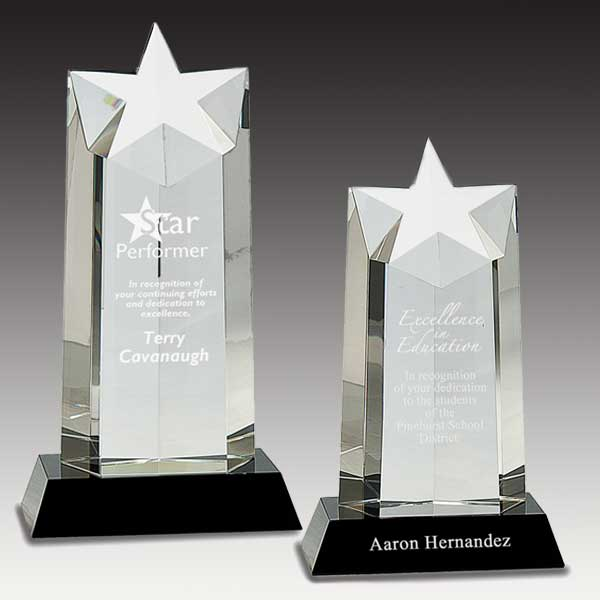 Ascending Star Crystal Tower Award