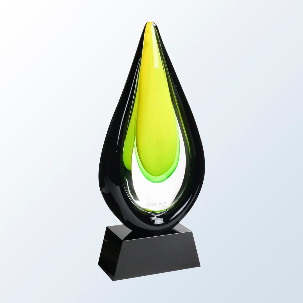 Citrine Torch Art Glass Award