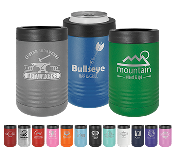 Laser Engraved Stainless Steel Koozie