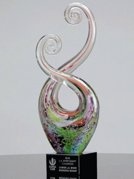 Party Twist Art Glass Award