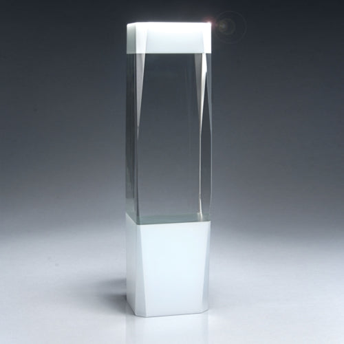 Jewel Cut Pillar Crystal