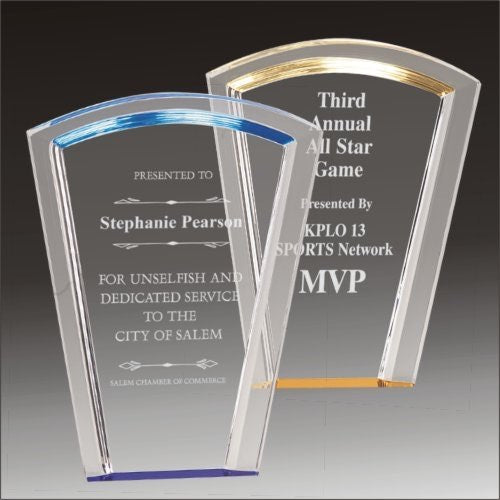 Halo Fan Acrylic Award