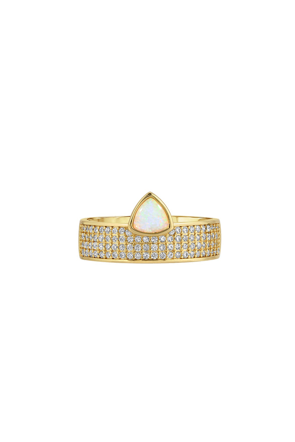 Finish - Gold | Style - Pave