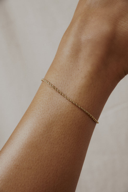 FRENCH ROPE ANKLET