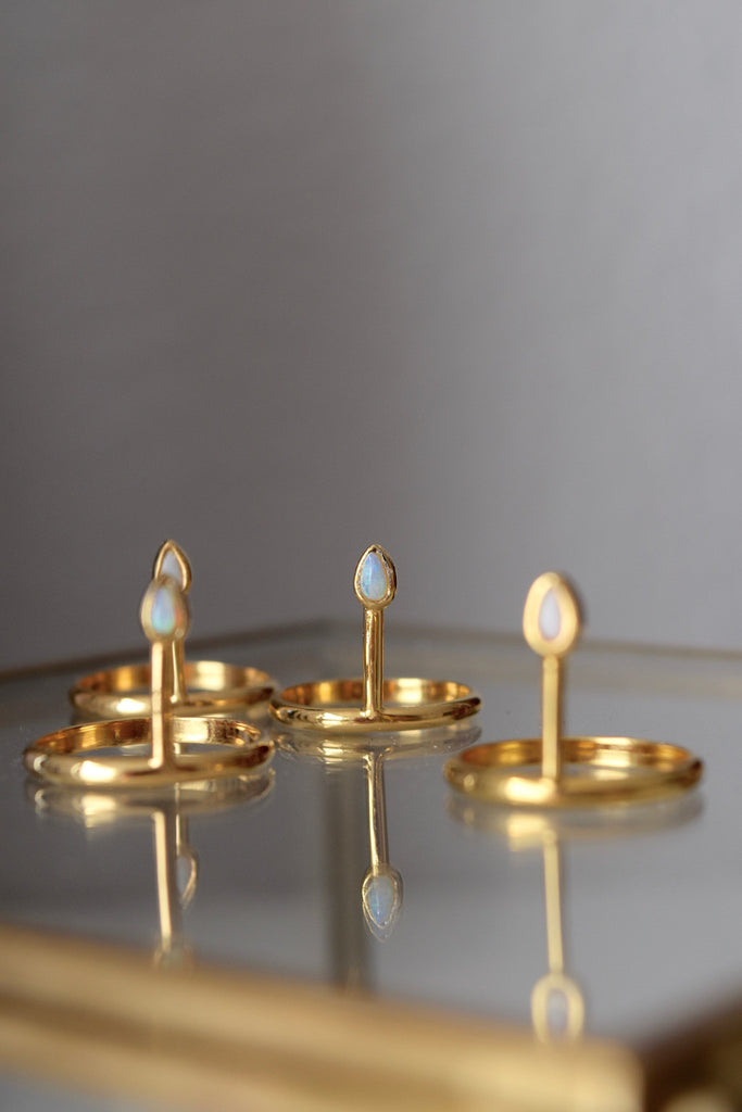 SPEAR RING | GOLD