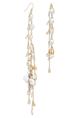 CATALINA PEARL MIXER EARRINGS