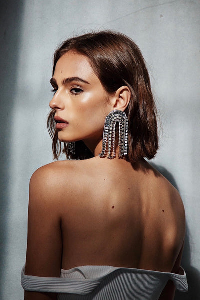 HALLE FRINGE EARRINGS