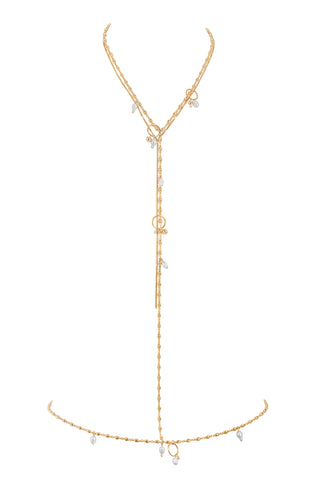 NATALIA BODY CHAIN | GOLD