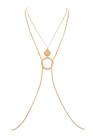 LINA COIN HARNESS | GOLD
