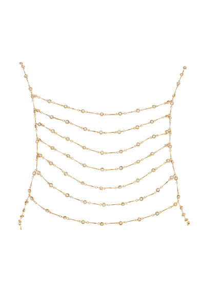 PEARL HARNESS | GOLD