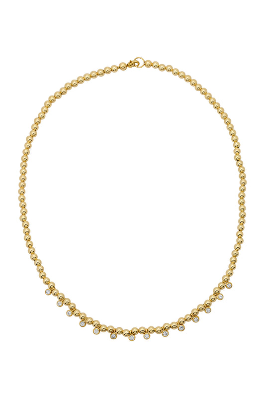 MARA BEADED SHAKER NECKLACE