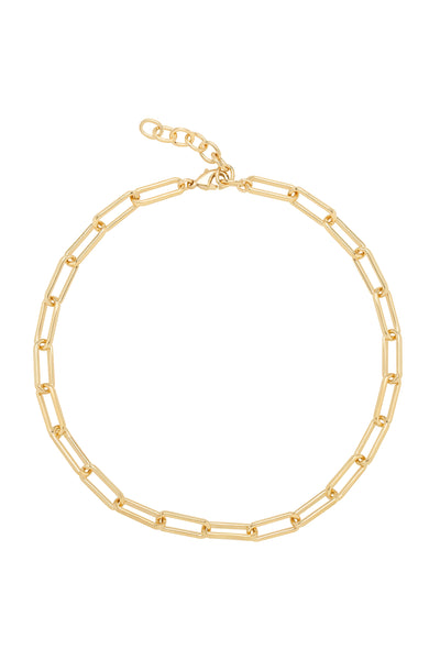 ALEXX LINKS ANKLET | GOLD