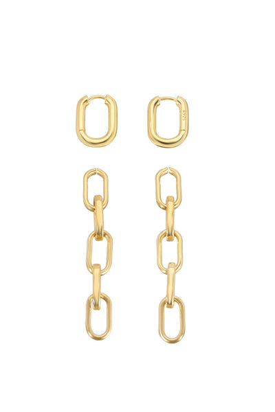 LARA LINK EARRINGS