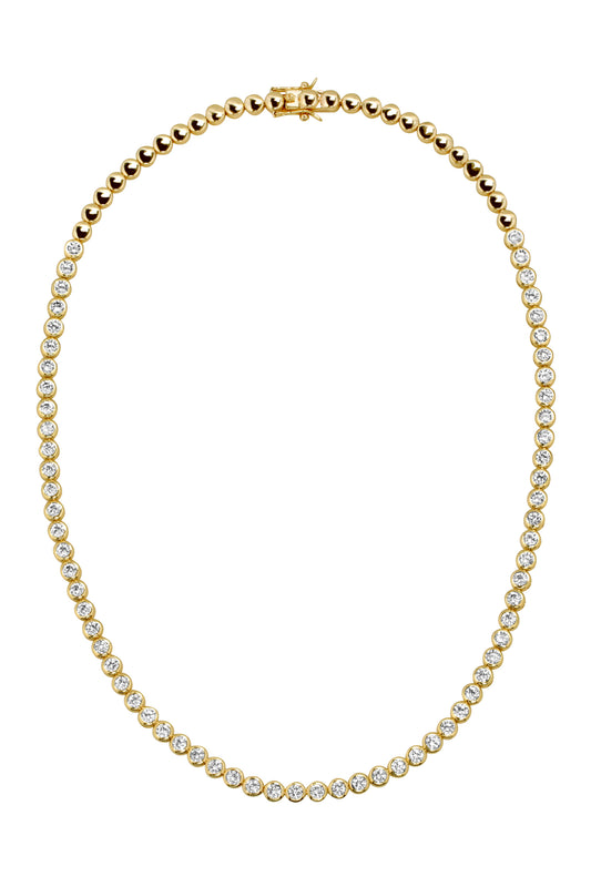 REESE TENNIS NECKLACE, SHORT
