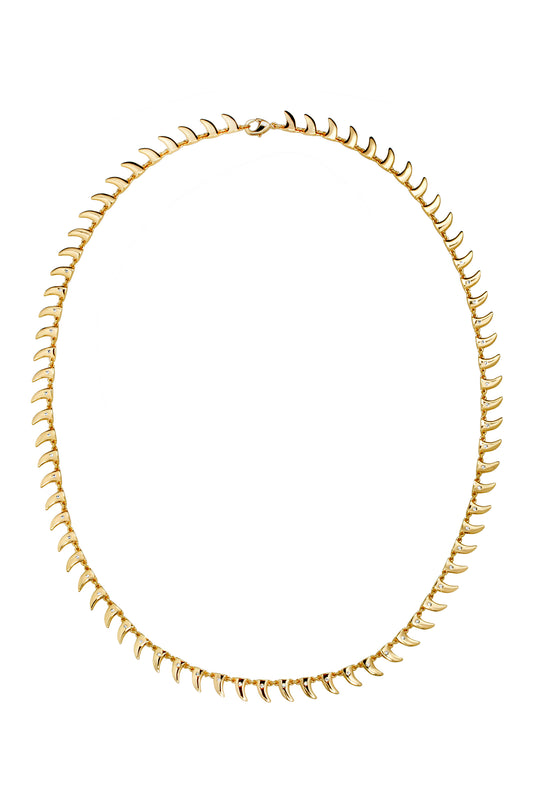 TUSK TENNIS NECKLACE