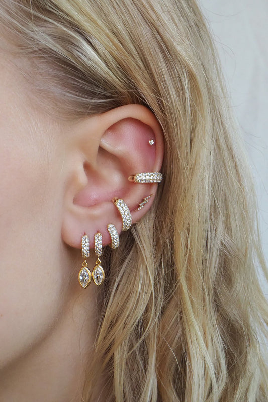 PAVE EAR CUFF SET