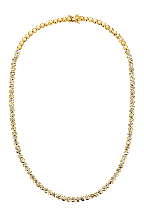 REESE TENNIS NECKLACE, LONG