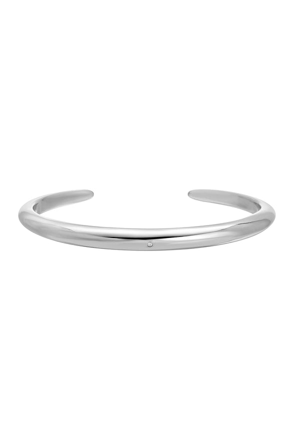 TUSK CUFF BRACELET, SMOOTH