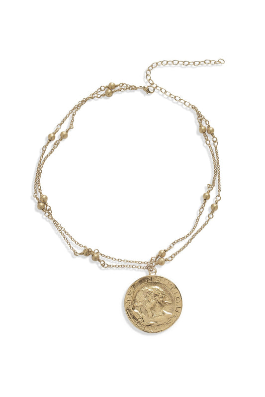 THOUL COIN CHOKER | GOLD