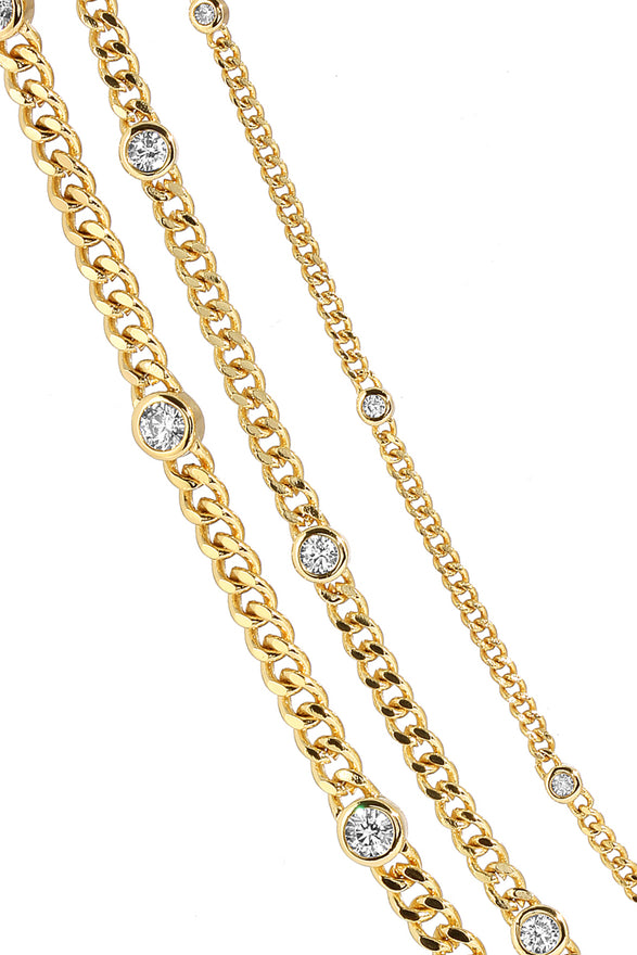 DAISY LINK ANKLET, LARGE