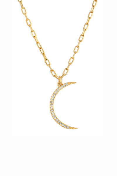 CORA CRESCENT NECKLACE